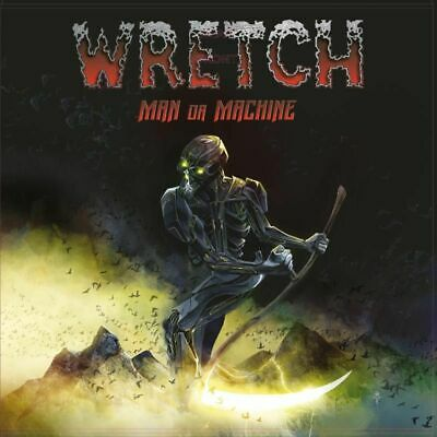 WRETCH - Man Or Machine (NEW*US POWER METAL*VICIOUS RUMORS*M.CHURCH*HELSTAR)
