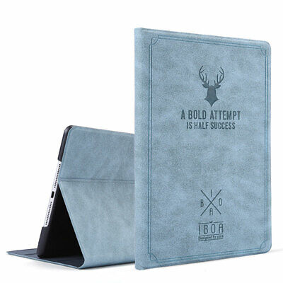 For Apple iPad 2 3 4 Mini Air Pro 11 360° Rotating Leather Smart Case Flip Cover