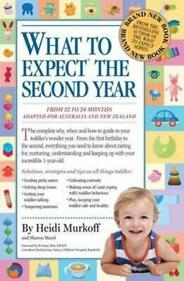 NEW What to Expect the Second Year By Heidi E. Murkoff Paperback Free Shipping