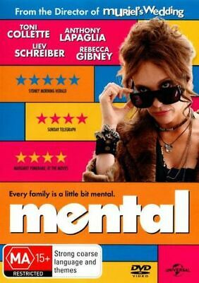 NEW Mental DVD Free Shipping