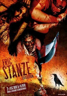 ERIC STANZE COLLECTION - 6 Movies on 3 Dvds - Includes Scrapbbok -