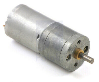 Pololu 34:1 Metal Gearmotor 25Dx52L mm HP 12V High Power Brushed DC PO3204
