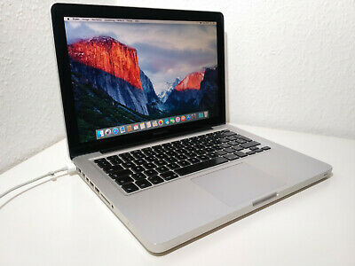 Apple MacBook Pro 13,3 Zoll silber Notebook Mid 2009 Core2Duo 2,53 Ghz A1278