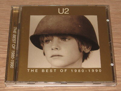 U2 - The Best Of 1980-1990  (CD 1998). Ex Cond