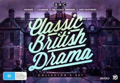 NEW Classic British Drama Collector's Set DVD Free Shipping