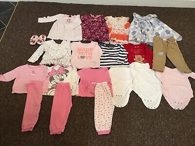 Baby Girl Clothes 9-12 Months - Bundle