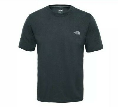 7ccecaa50 THE NORTH FACE Reaxion Kids T-shirt - Dark Grey Heather All Sizes ...