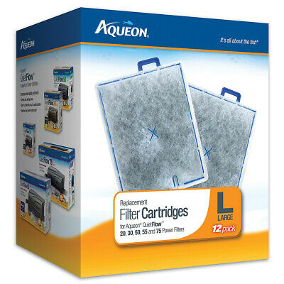 AQUEON - Replacement Filter Cartridge for QuietFlow 20, 30, 50, 55, & 75 Large