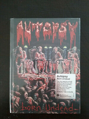 "Autopsy ""born Undead"" Dvd Collector Neuf Sous Blister"