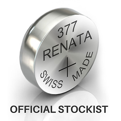 Renata Sr626Sw/377. Swiss Watch  Battery / Cell Free Postage