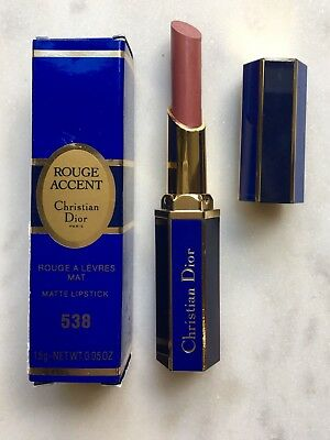 Christian Dior Rouge Accent Lipstick No 538 New