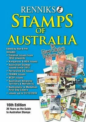 NEW Renniks Stamps of Australia : 16th Edition By Alan B. Pitt Paperback