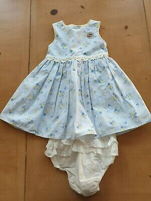 TU Baby Girl's Summer Floral Dress Size 6 to 9 Months - New