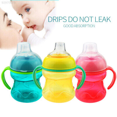 24FB Portable Straw Training Gifts Drink Newborn Cup Milk Sippy 200ML Toddler
