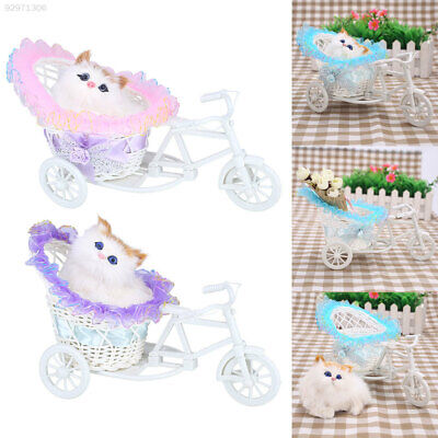 D4F7 Cartoons Simulation Appease Home Tricycle Decorations Doll Birthday Gift