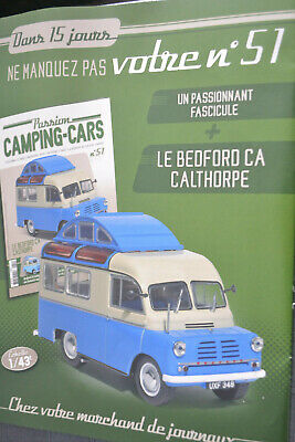 Voiture Camping Car Motor Home N°51 Le Bedford Ca