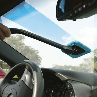 Microfiber Auto Window Cleaner Windshield Fast Easy Shine Brush Handy Washable