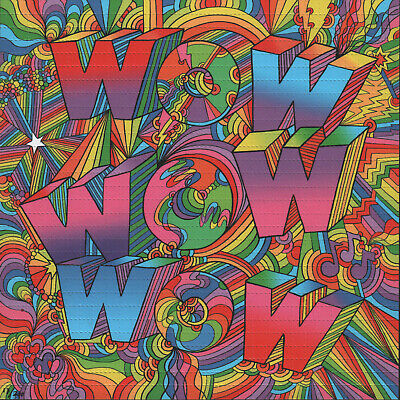 Psychedelic Wow By Howie Green - Numbered Limited Edition Of 200 Blotter Art