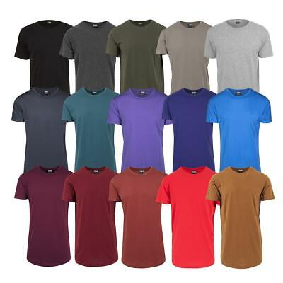 Urban Classics Shaped Long Tee Herren T-Shirt extra lang Basic Oversize Men Tall