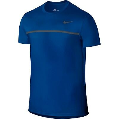 Nike Men's Pro Player Dri-Fit Court Challenger Swoosh Tennis Crew Shirt 648240