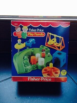 Vintage Fisher Price Play Family Playground 2525 Nib 1986