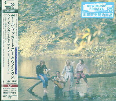 Paul Mccartney & Wings-Wild Life-Japan 2 Shm-Cd I45