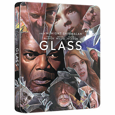 Glass - Best Buy Exclusive Steelbook (Blu-ray + 4K UHD) PRE-ORDER!! BRAND NEW!!