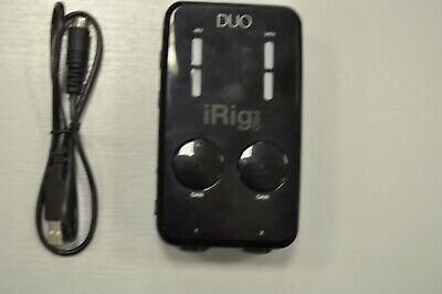 IK Multimedia iRig Pro Duo Audio & MIDI Interface Recording Equipment