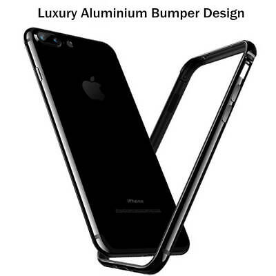 Aluminum Metal Frame Creative Bumper Case For iPhone 8 7 6s 6 Plus Edge