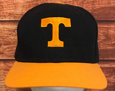 discount 70df8 d93ae Tennessee Volunteers Vintage NCAA New Era Snapback Hat Cap Made In USA