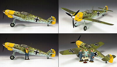 """King and (&) Country LW044 - Werner Molder's Messerschmitt Bf109 """"Emil""""- Retired"""