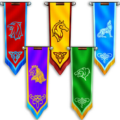4 ft. 6 in. Fantasy Knights Castle Banners