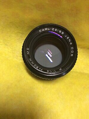 Carl Zeiss Jena DDR P 1:1.4 50mm MC PB Mount For Digital With Right Adaptor