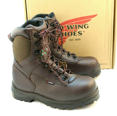 fadc08c6ab3 New RED WING 3548 Size 9 EE Safety Toe Waterproof Work Men s Boots RETAIL   259