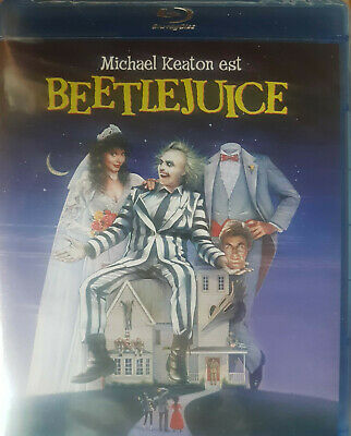 Beetlejuice  Blu Ray  Neuf Sous Cellophane