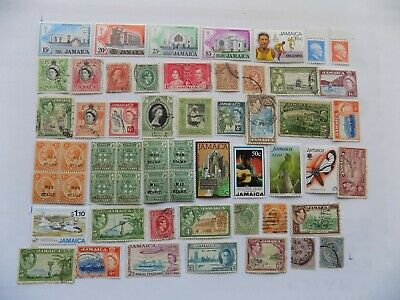 Jamaican  Coll'n of stamps off paper -3-14-Incl. 94) MNH Scott # 491-94