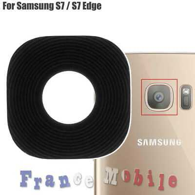 Lentille Vitre Cache Camera Arrière Back Glass Lens Cover Samsung Galaxy S7/Edge