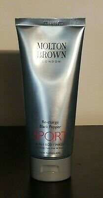 Molton Brown 4 in 1 Sport Wash Re-Charge Black Pepper Body Wash 200ml