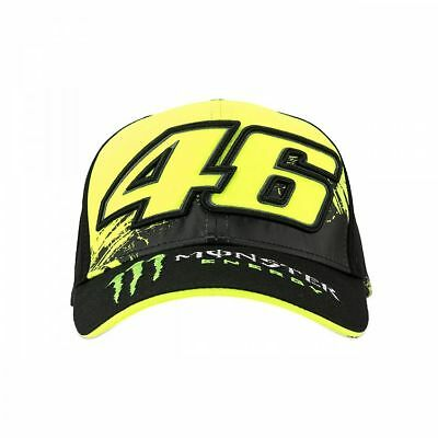 2018 Valentino Rossi Moto GP VR 46 MONSTER 46 Sponsor Cap Hat OFFICIAL *SALE*