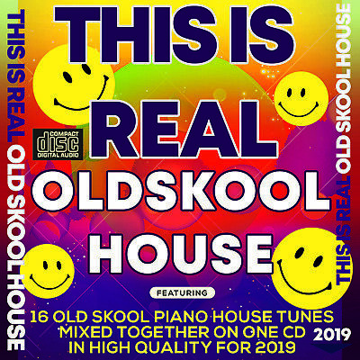 This is Real Old Skool House 2019 NEW MIXED CD DJ PIANO ITALIAN HOUSE CLUB TUNES