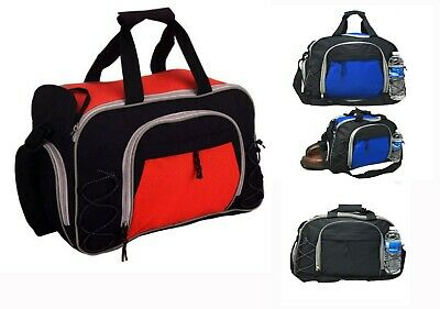 1cde1baa1b34 NEW Gym Bag Duffle Travel Workout Sports Luggage Carry On Shoe Bottle  Pocket 18