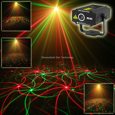 4 patterns Sunflower Whirlwind R&G Laser Projector Disco DJ party light SHOW p17