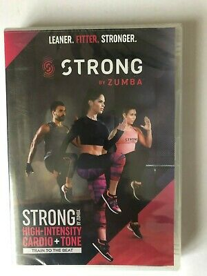 Strong by Zumba  [DVD] NEW AND SEALED.FREE POST