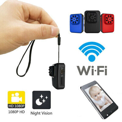 Mini Spia Telecamera Full HD Nascosta IP Wifi Wireless Micro Spy Camera Video DV
