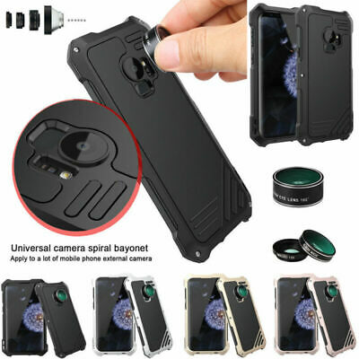 Shockproof Camera Lens Metal Case Cover For Samsung Galaxy S7 Edge S9 S8 Plus