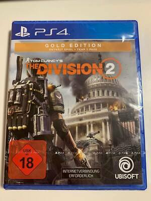 Tom Clancy's The Division 2 Gold Edition PlayStation 4 - NEU in OVP