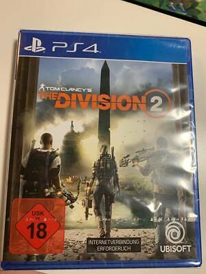 The Division 2 PS4 - NEU IN OVP