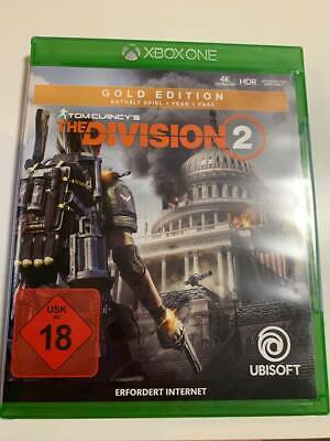 Tom Clancys The Division 2 Gold Edition Xbox One - Neu in OVP