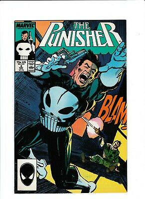 The Punisher #4 VF+ 1st Appearance of Microchip KEY ISSUE Marvel Comics