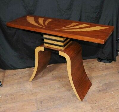 Art Deco Console Table Hall Tables Inlay Modernist Furniture